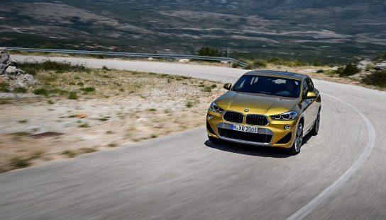 De BMW X2