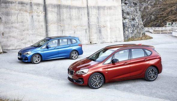 De nieuwe BMW 2 Serie Active Tourer en Gran Tourer.