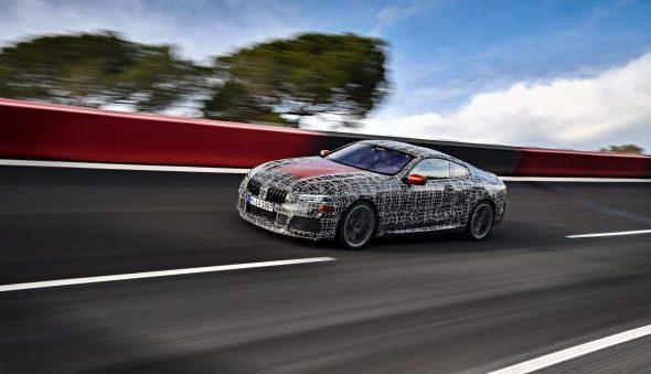 Alvast een glimp van de BMW 8 Serie.