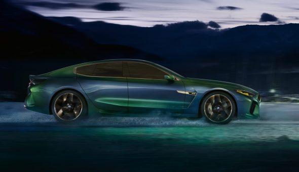 Het concept van de BMW M8 Gran Coupé.