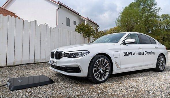 BMW biedt als eerste Wireless Charging