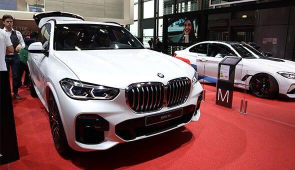 De nieuwe BMW X5 op Mondial Paris