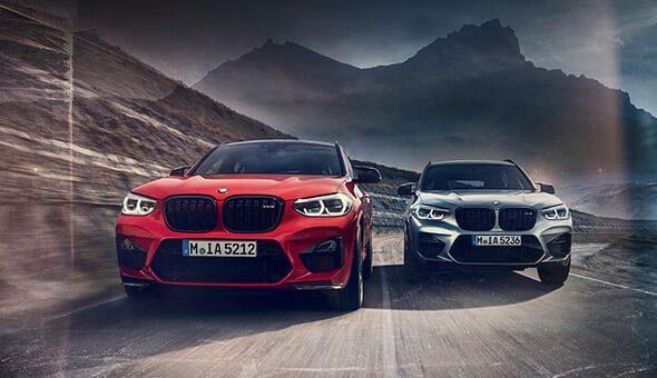 BMW X3M en X4M