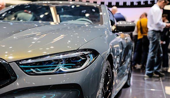De nieuwste BMW's gepresenteerd in Genève.