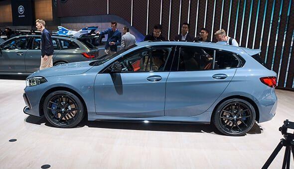 De BMW 1 Serie staat weer op 1